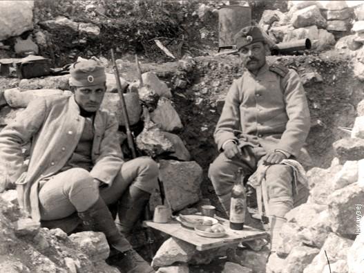 Ускрс 1918, Друга Зборска коса