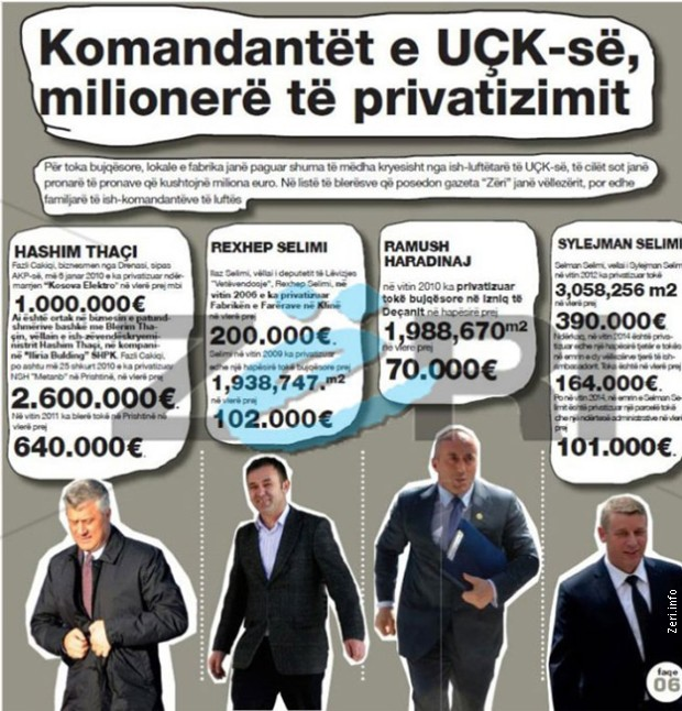 Komandanti bivše OVK, danas milioneri na vlasti (Foto: RTS)