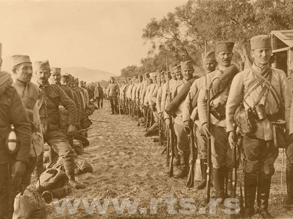 На Крфу после опоравка и реорганизације србски војници спремни за нове борбе