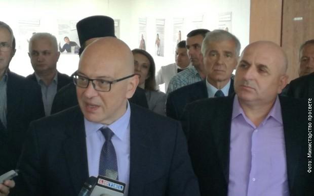 Владан Вукосављевић и градоначелник Лознице Видоје Петровић