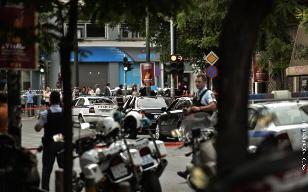 Аутомобил у коме се десила експлозија
