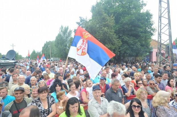 Грађани се у великом броју окупили у Дебељачи