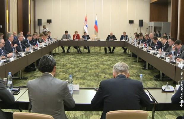 Zasedanje srpsko-ruskog Međuvladinog komiteta za trgovinu, ekonomsku i naučno-tehničku saradnju u Sočiju
