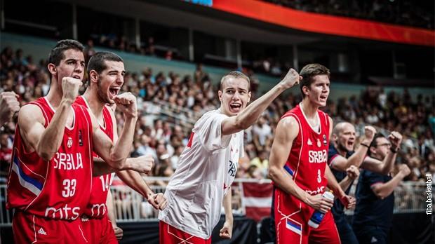 Србски јуниорски кошаркаши