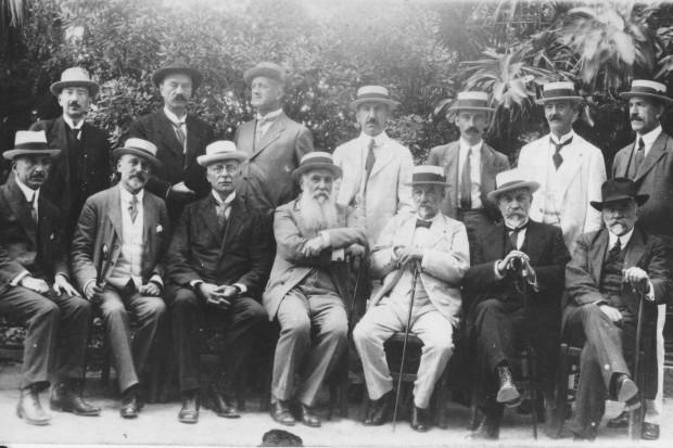 Учесници конференције на Крфу, јул 1917.