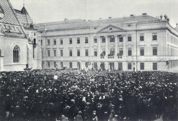 Загреб, 29. октобар 1918.