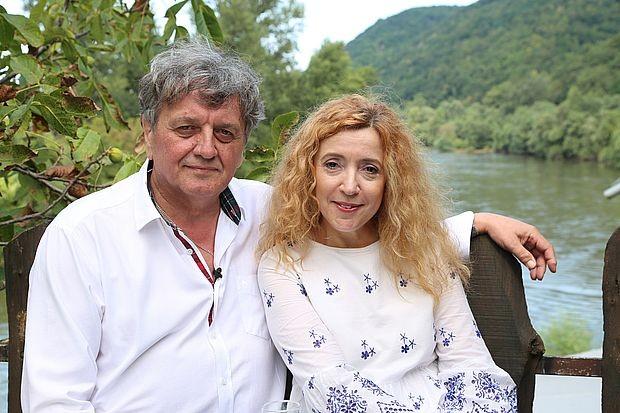 Радош Бајић и Лидија Божић