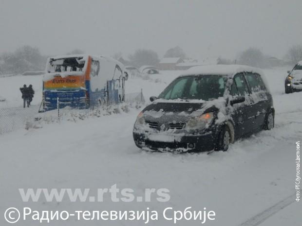 Snimak sa mesta nesreće