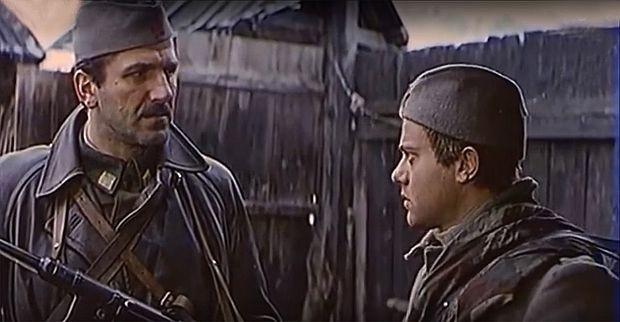 Bata Živojinović i Kole Angelovski u filmu