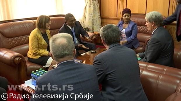 Srpska delegacija u poseti Keniji