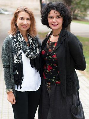 Jasmina Vrbavac i Marija Nenezić
