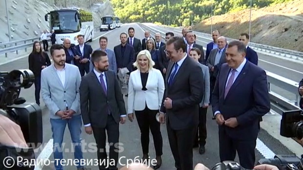 Državni vrh Srbije i Milorad Dodik kod Kosine 2