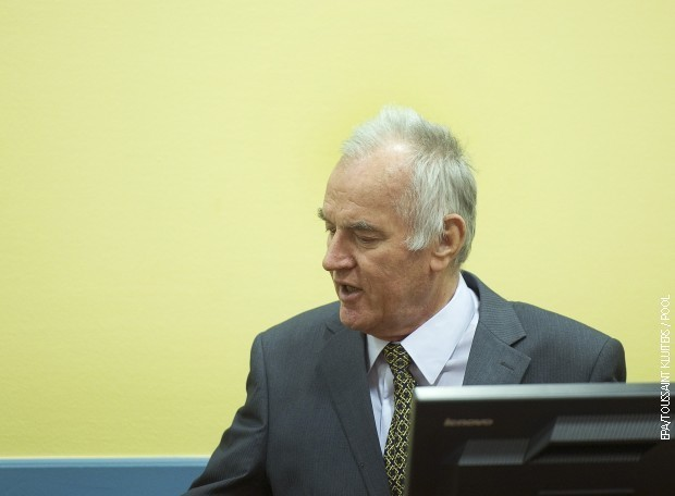 Ratko Mladić (arhivska fotografija)