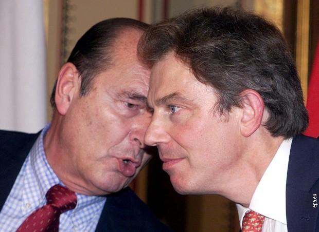 Жак Ширак и Тони Блер 1999. године