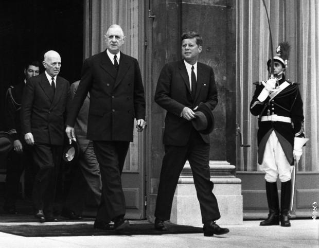 Шарл де Гол и Џон Кенеди