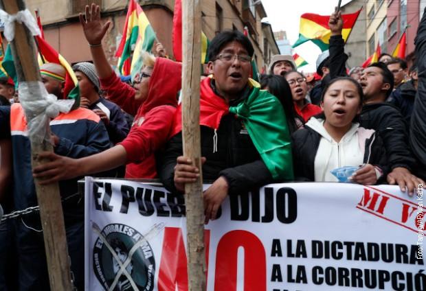 Protesti u Boliviji