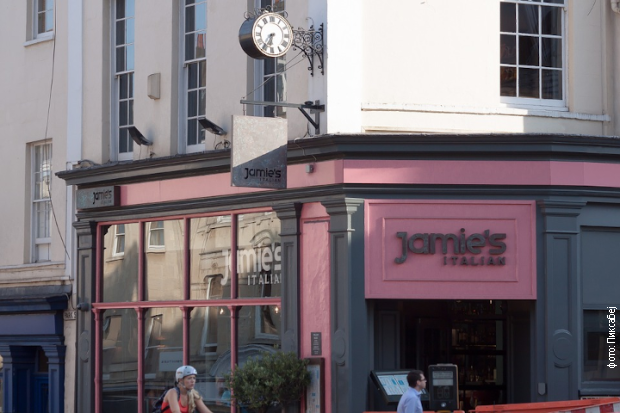 Jedan od restorana Džejmija Olivera