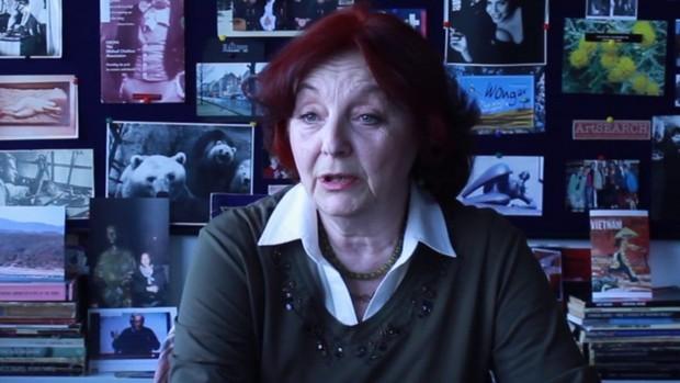 Fotografija iz kratkog filma KABINET PROFESORKE LjILjANE BOGOEVE SEDLAR (Srbija, 2017) Filipa Martinovića i Koste Ristića