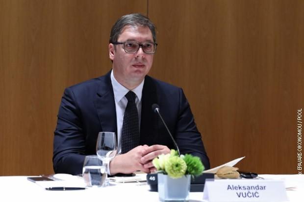 Vučić otkazao sve predizborne skupove SNS-a do 1.aprila