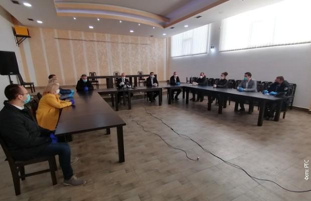 Састанак кризног штаба у Косовској Митровици