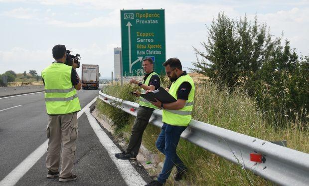Patrola do Grčke preko Bugarske