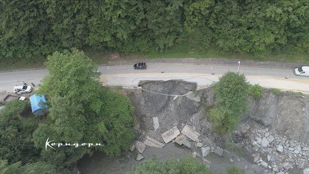 Oštećena putna infrastruktura u opštini Ivanjica
