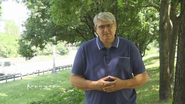 "Goran Maslar, urednik emisije ""Koridori"""