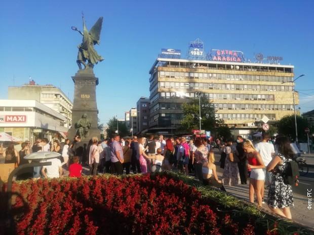 Протест у Крушевцу