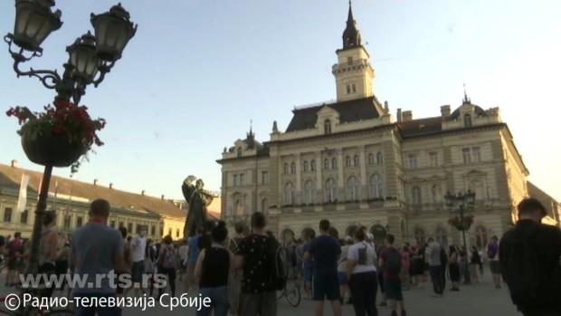 Протестни скуп у Новом Саду
