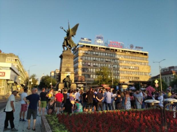 Пртест у Крушевцу