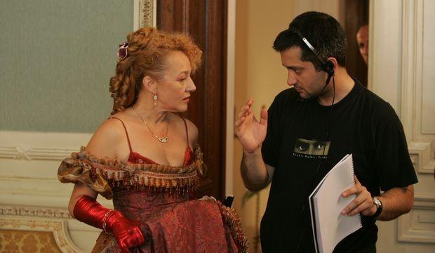 Vladica Milosavljević i reditelj Marko Novaković