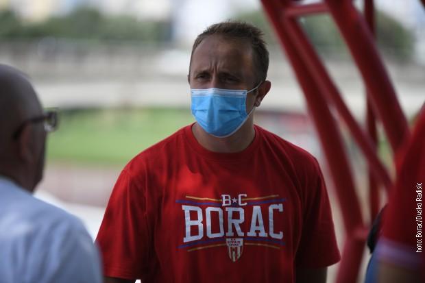 Trener Čačana Marko Marinović