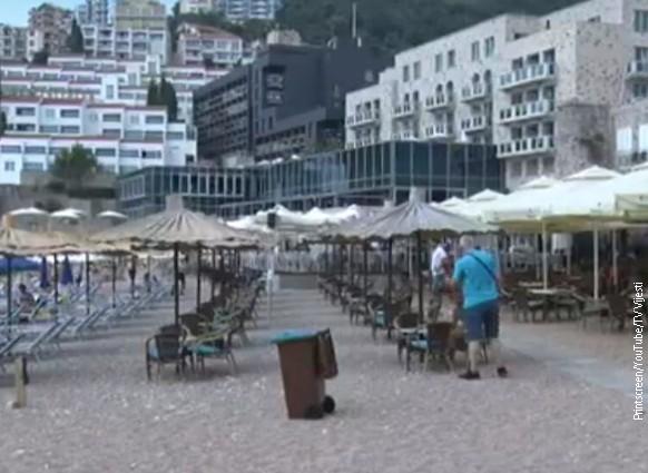 U špicu sezone u Crnoj Gori boravi 92 odsto manje turista