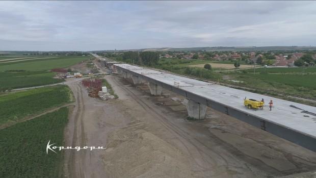 Изградња новог двоколосечног железничког вијадукта код места Бешка