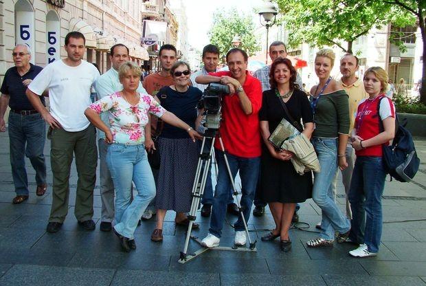 Екипа на снимању ''Приче о Фројд''