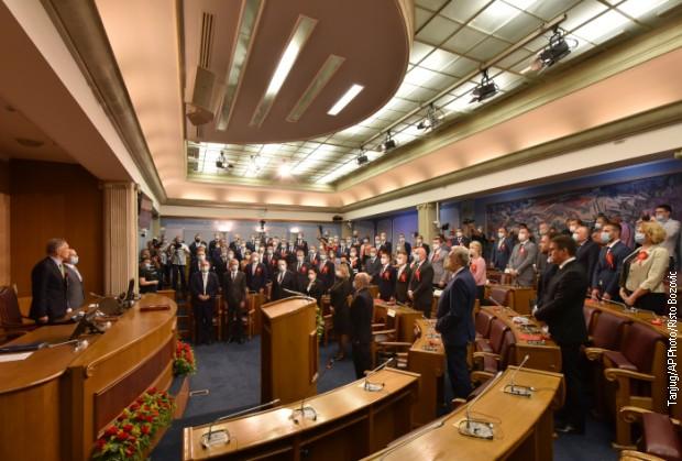 Подгорица - верификовани мандати, посланици три коалиције подржали Кривокапића за мандатара