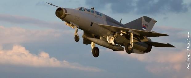 Једини МиГ-21 који је тренутно био активан у РВ и ПВО ВС