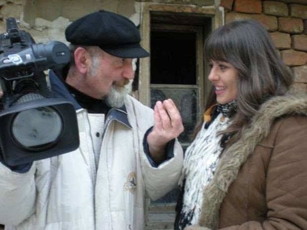 Autorka Nataša Todorović i snimatelj Dragan Stanojković na terenu