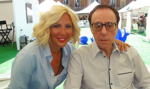Sandra Perović i Piter Bogdanovič