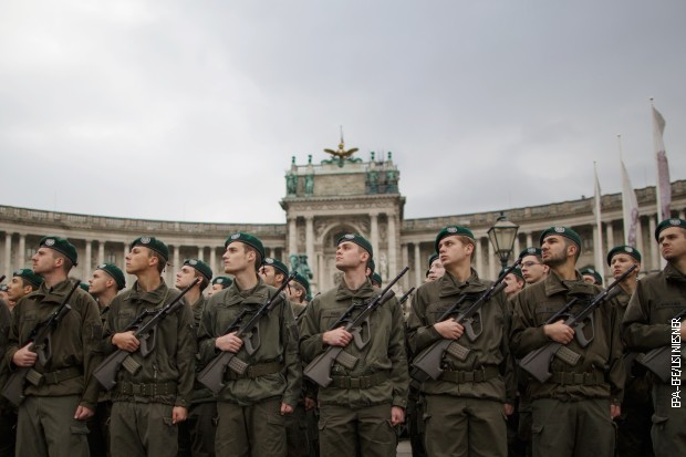 Регрути аустријске војске (архивска фотографија)