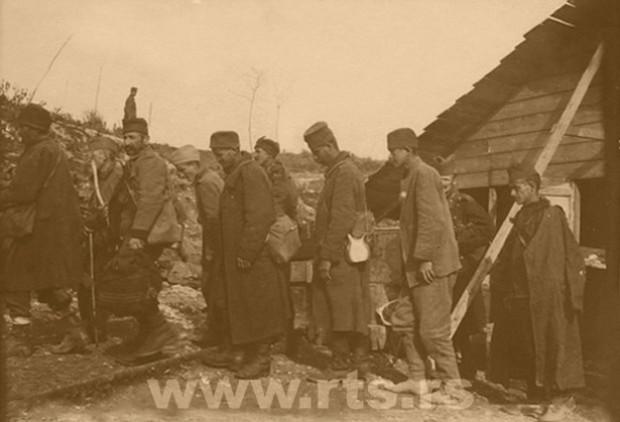 Ostrvo Vido - ostrvo smrti, dolazak bolesnih i iznemoglih srpskih vojnika