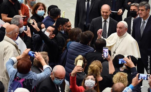 Papa Franja u oktobru u Vatikanu