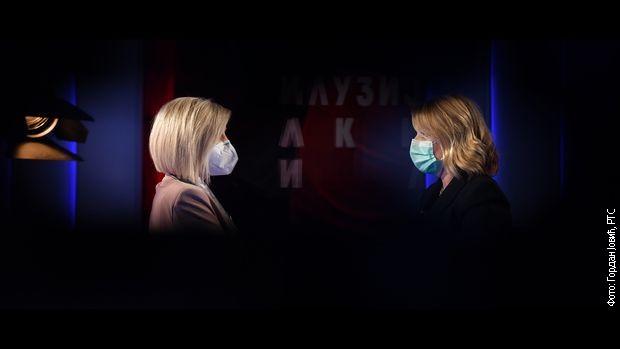 Сандра Перовић и Анђелка Прпић