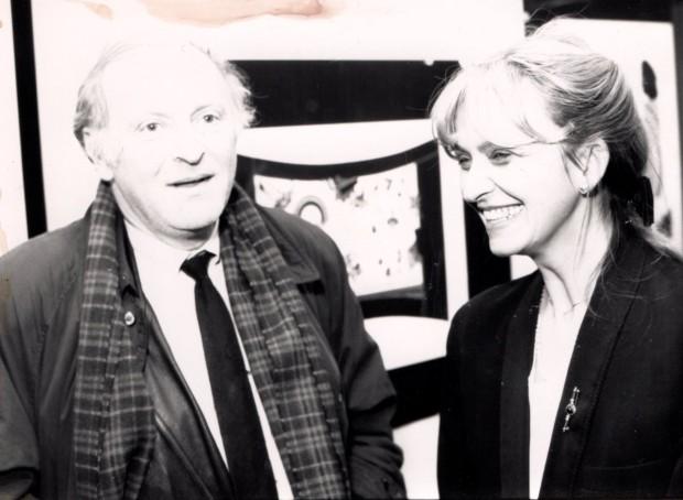 Maja i Josif Brodski, dobitnik Nobelove nagrade za književnost