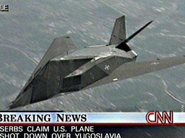 Си-Ен-Ен известио о обарању Ф-117