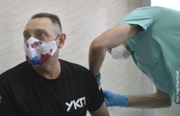 Вулин примио вакцину