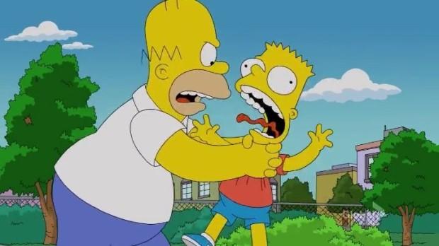 Homer i Bart Simpson