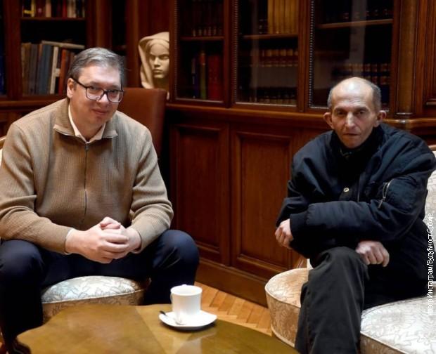 Aleksandar Vučić i Đorđe Joksimović