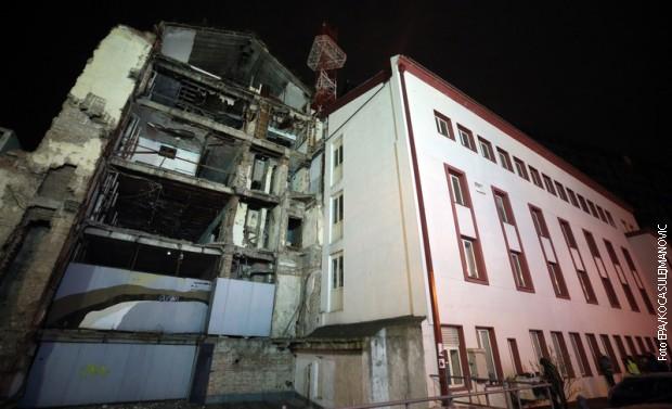 Bombardovana zgrada RTS-a