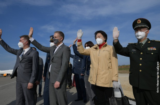 Završena poseta ministra odbrane NR Kine generala Vei Fenghea Srbiji